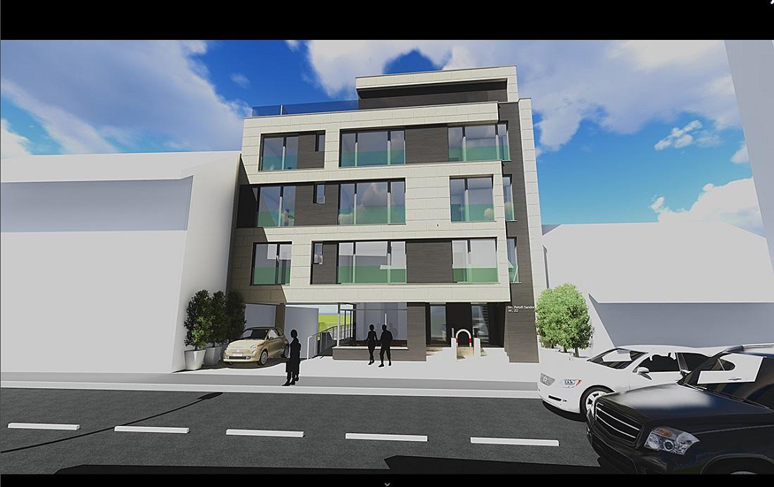 Imobil cu apartamente de 1,2,3 camere in Centru