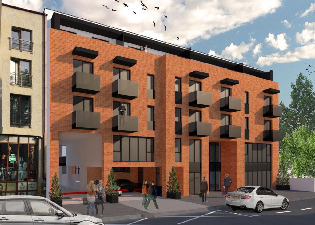 Zona CENTRU! Constructie mixta, apartamente 1,2,3 camere si spatii comerciale!