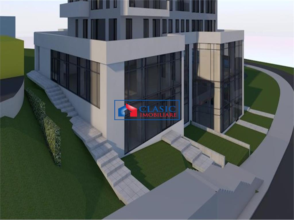 Vanzare 600 mp spatiu birouri sau comercial pozitie deosebita Iulius Mall, Cluj-Napoca