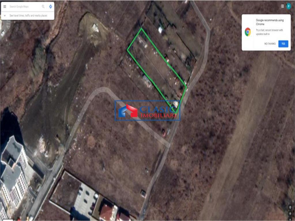 Vanzare teren 2000 mp, acces la 2 strazi! Zona Buna Ziua, Cluj-Napoca