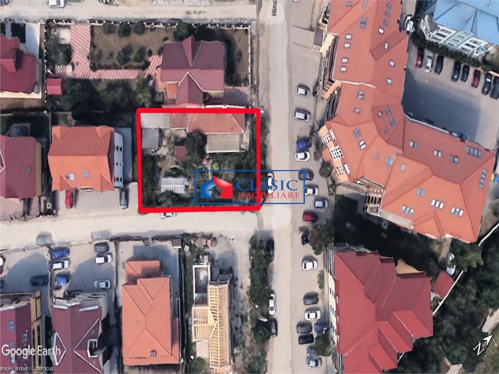 Vanzare teren cu 2 fronturi zona Gheorgheni, UTR Liu, Cluj- Napoca