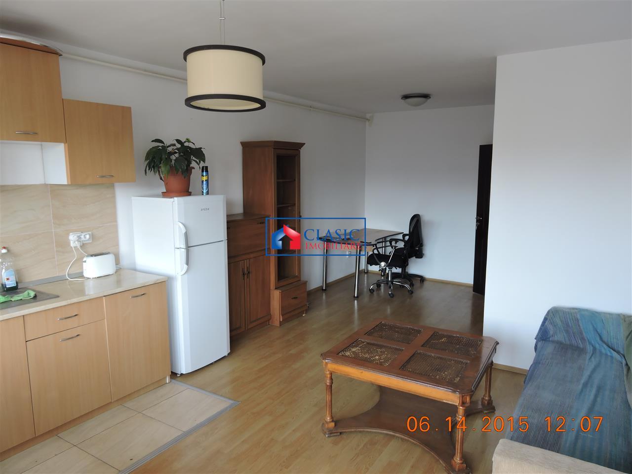 Vanzare apartament 2 camere, 57 mp, mobilat, zona Baciu-Petrom