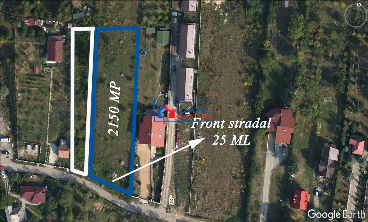 Vanzare teren pentru casa zona Faget, Cluj Napoca