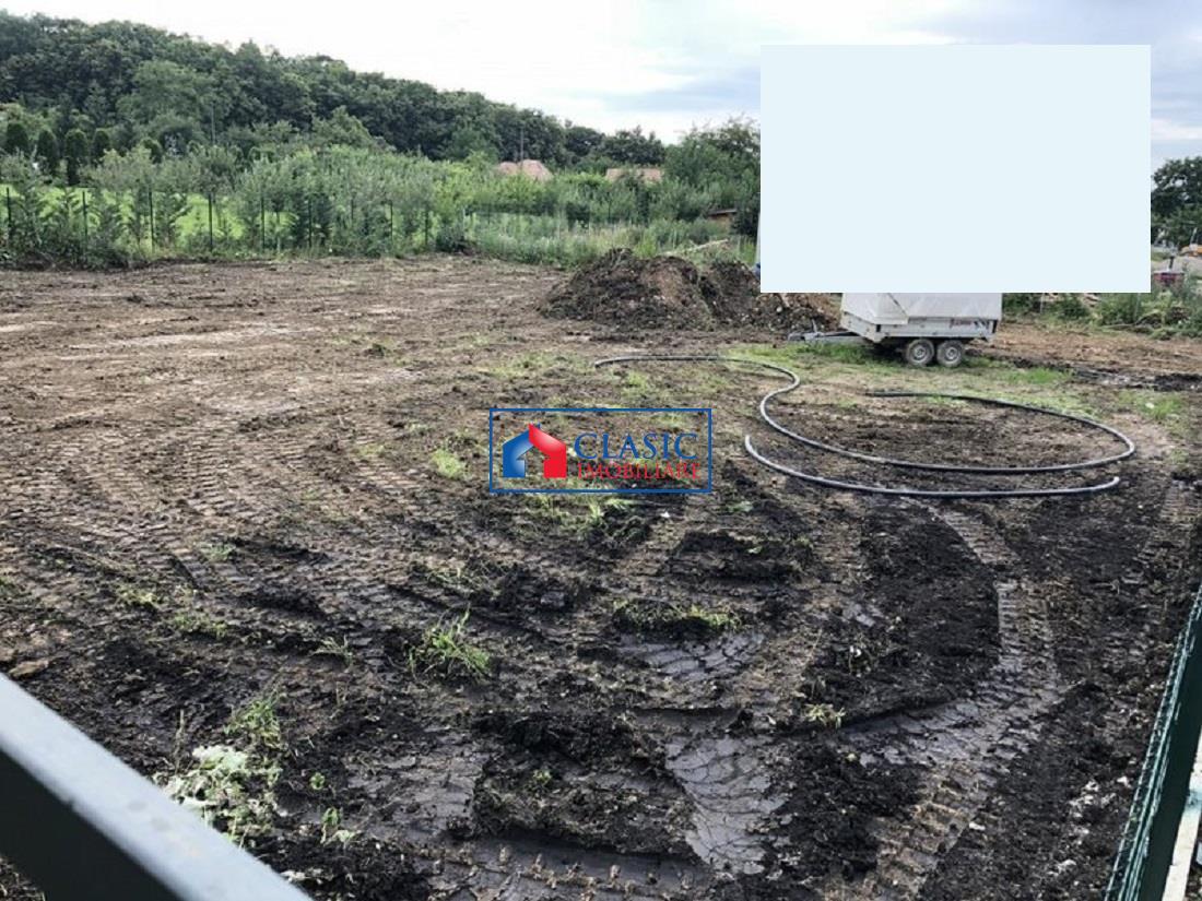 Vanzare Teren cu autorizatie de constructie in Faget, 928 mp