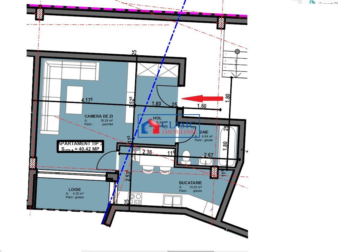 Apartament 2 camere cu parcare in Centru, Fac. de Matematica