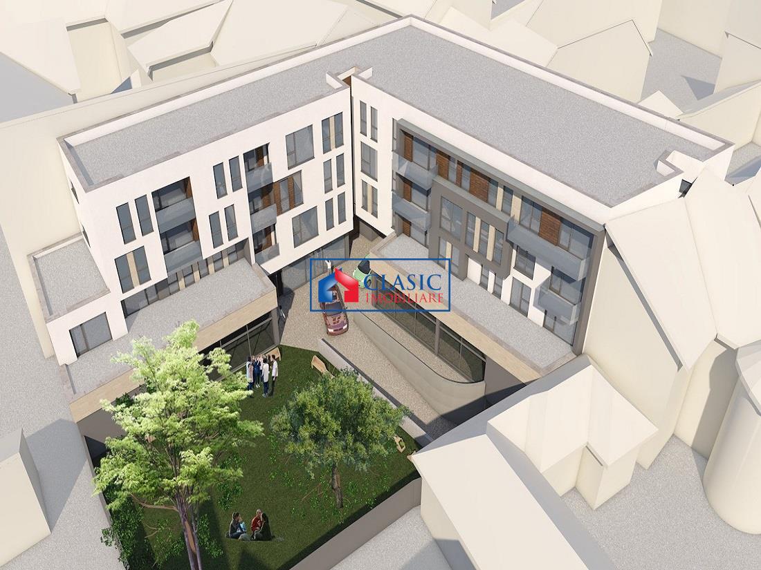 Apartament 3 camere dec cu parcare si terasa 20 mp in Centru, Astoria