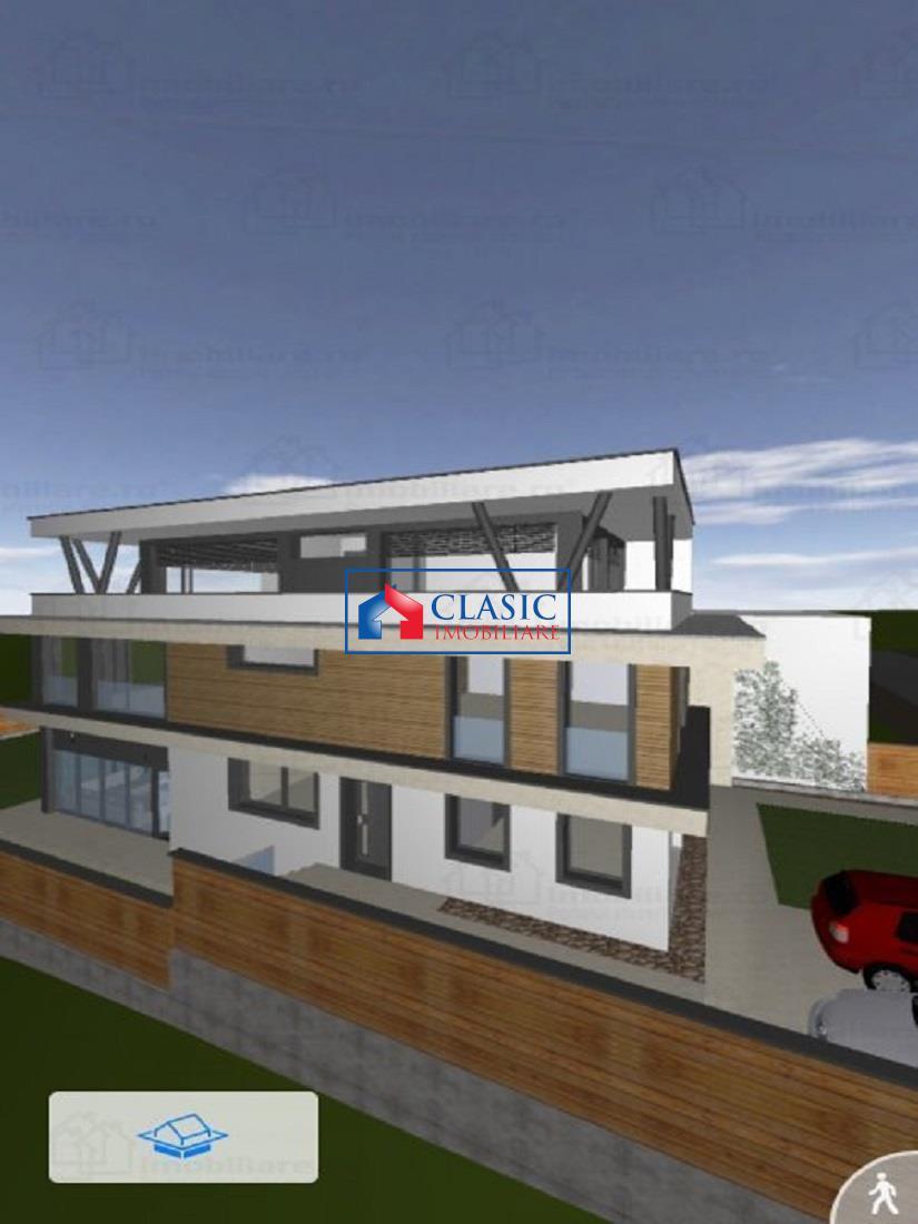 Apartament 3 camere de lux cu gradina 200 mp in Gruia, Belvedere