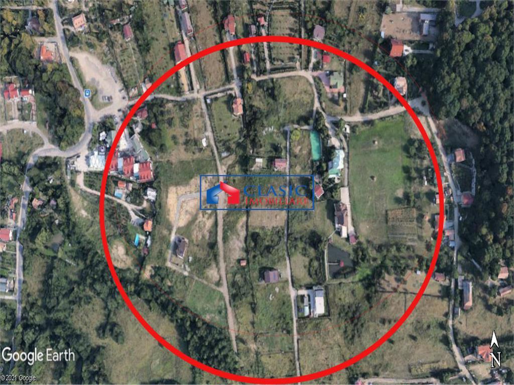 Vanzare 1000 mp teren, front la 2 strazi, Faget, Cluj Napoca