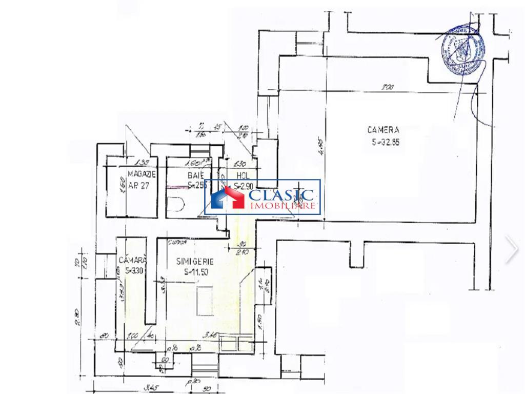 Inchiriere spatiu comercial 53 mp in Centru zona Casa Studentilor