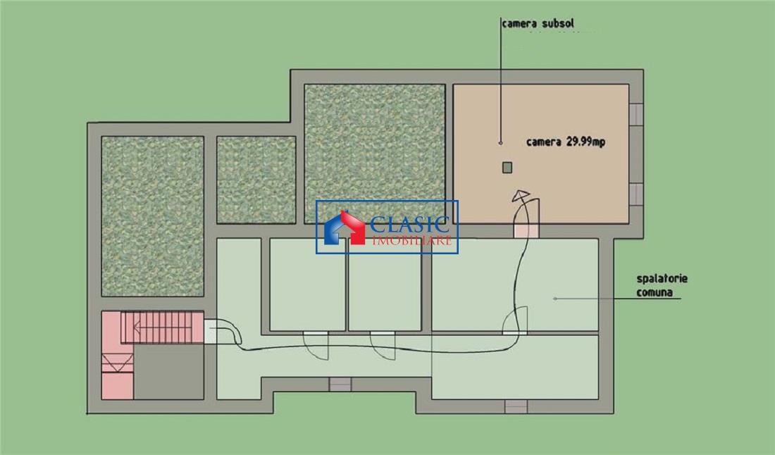 Apartament 4 camere 167 mp cu gradina 342 mp, locatie de lux, Astoria