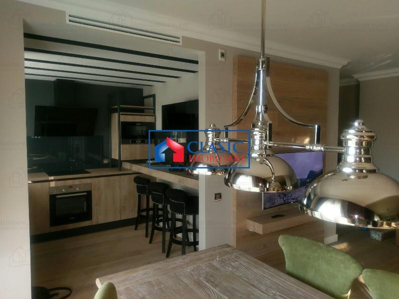 Apartament 3 camere lux, terasa 20 mp, parcare, zona Platinia, USAMV