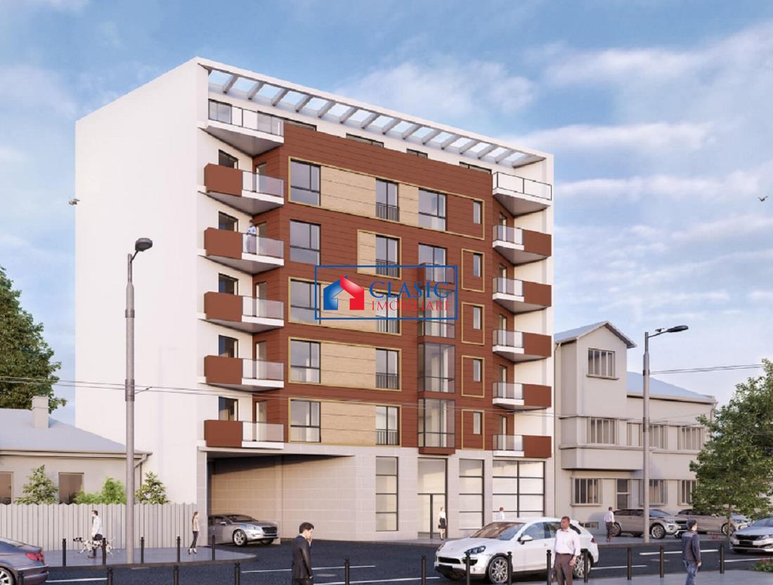 Apartament 2 camere in Centru, bloc nou, finalizat
