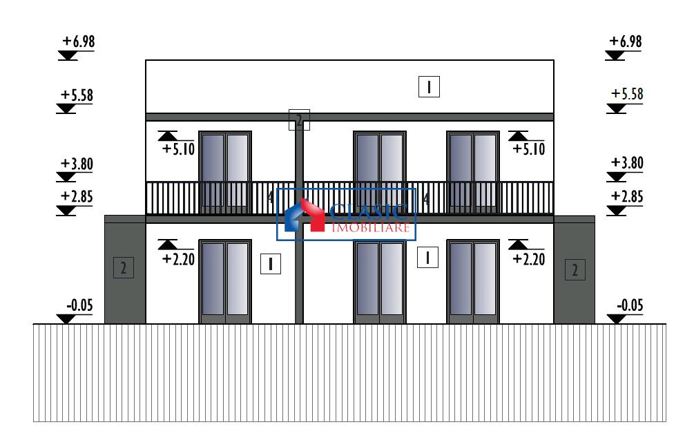 Parte duplex finalizare Septembrie 2019, zona Europa, Cluj Napoca