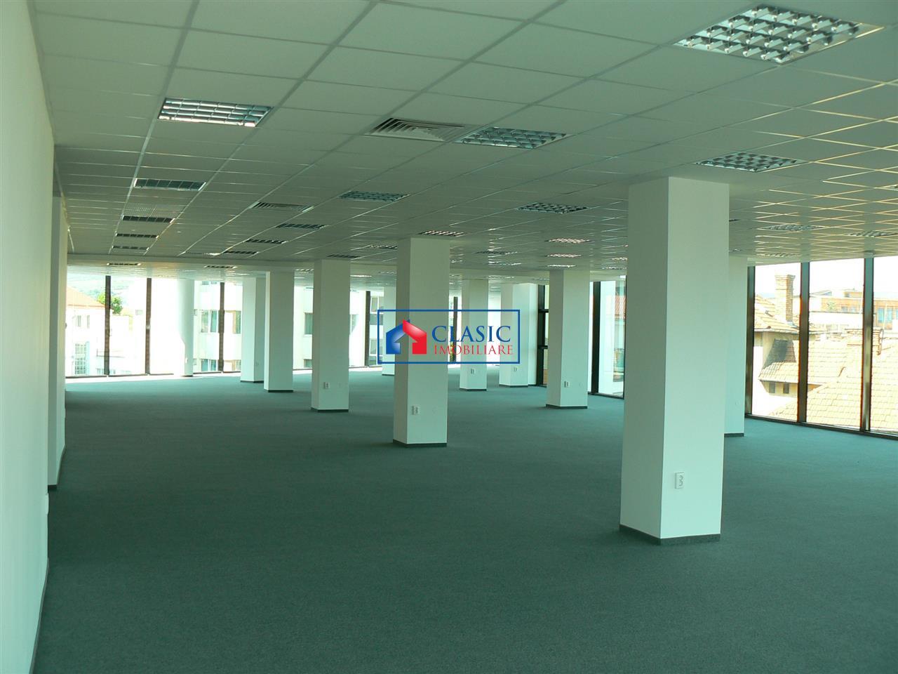 Inchiriere 1000 mp spatii de birouri clasa A in Centru, Cluj Napoca