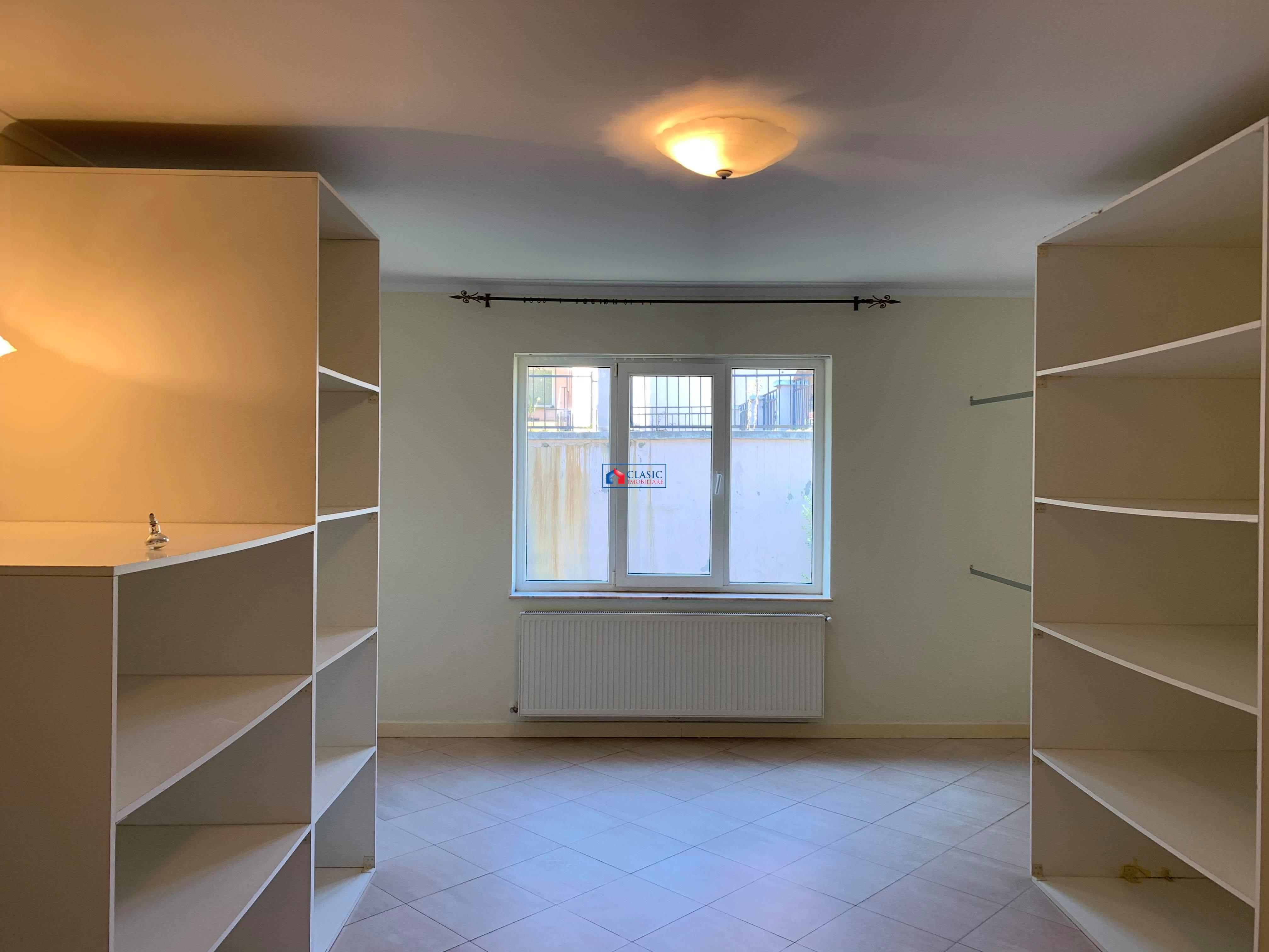 Inchiriere apartament 3 camere cu 200 mp de gradina in Andrei Muresanu