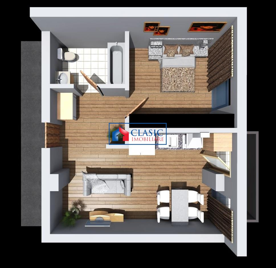 Vanzare apartament 2 camere in Dambul Rotund  Fabrica de Sport