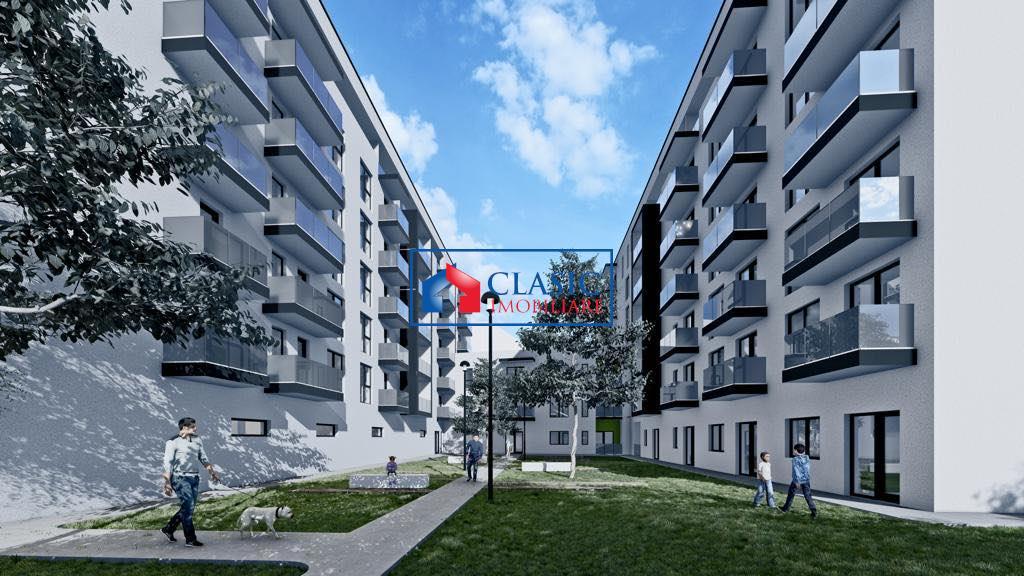 Vanzare apartament 3 camere in bloc nou Dambul Rotund Fabrica de Sport