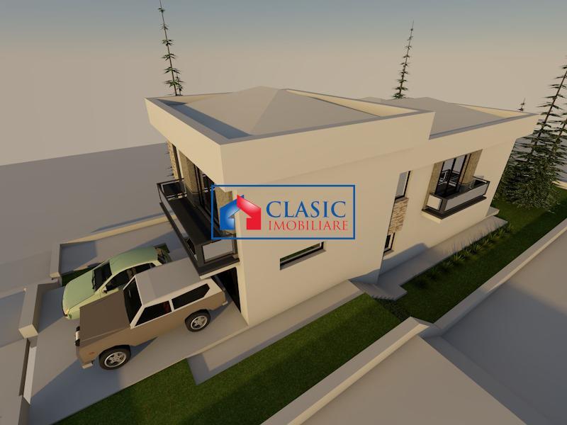 Vanzare parcela autorizata pentru casa individuala, Faget, Cluj Napoca