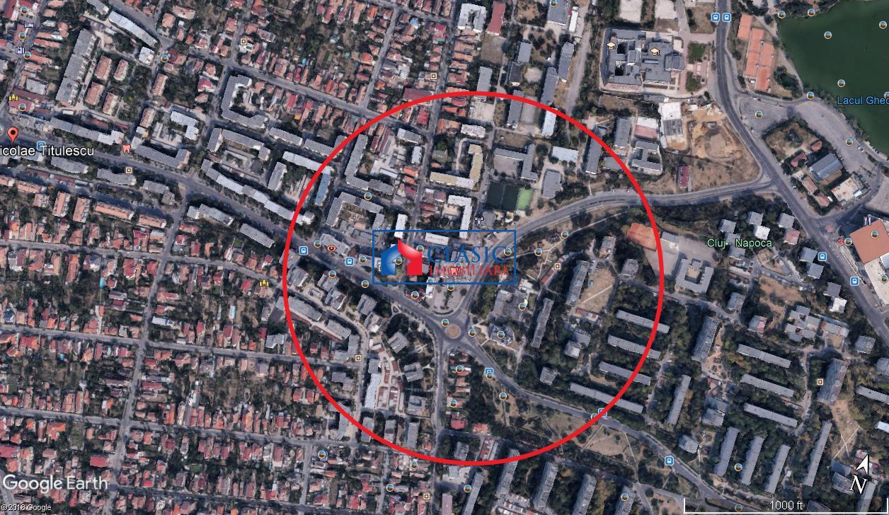 Vanzare teren constructie bloc, zona Gheorgheni, Interservisan