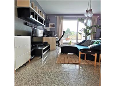 Inchiriere apartament 2 camere de LUX cu terasa 50 mp in Centru- Platinia Mall