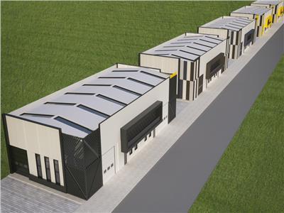 Vanzare hala noua 300 mp si 100 mp birouri, finalizare 2021