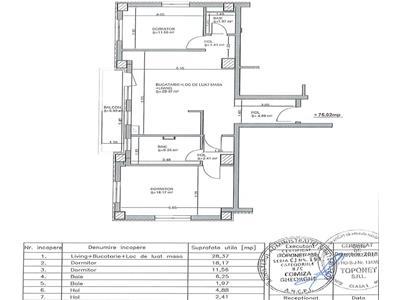 Vanzare apartament 3 camere bloc nou in Marasti- zona Iulius Mall