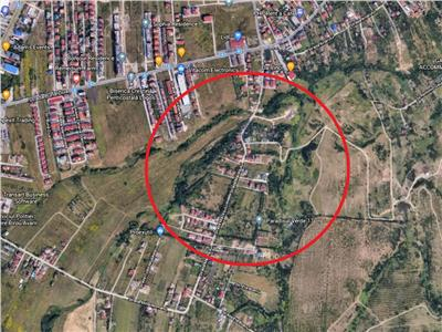 Vanzare teren 1200 mp zona Macesului Buna Ziua, Cluj-Napoca
