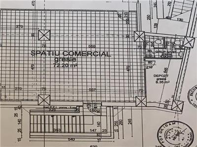 Inchiriere spatiu comercial 90 mp in Marasti- Sens Giratoriu, Cluj Napoca