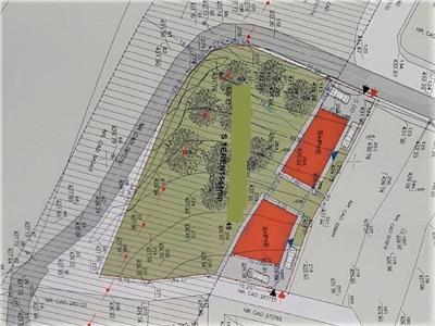 Vanzare teren pentru duplex si casa zona Campului Manastur, Cluj-Napoca