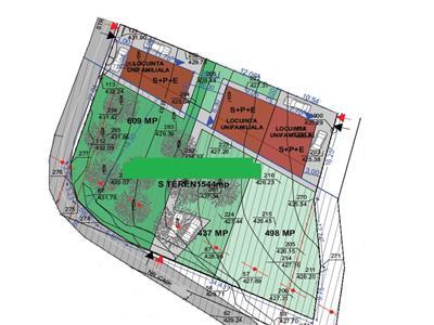 Vanzare teren pentru trei unitati locative zona Campului Manastur, Cluj-Napoca