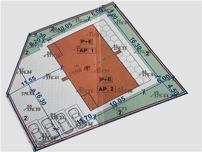 Vanzare teren cu autorizatie duplex in zona Partizanilor D. Rotund, Cluj-Napoca
