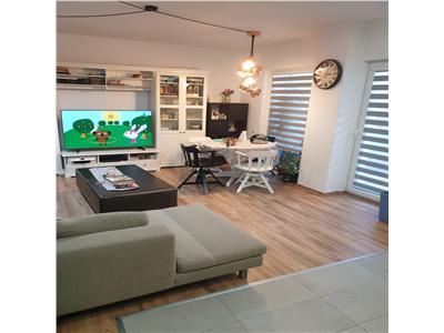 Inchiriere apartament 3 camere modern cu gradina 80 mp in Buna Ziua zona Lidl, Cluj Napoca