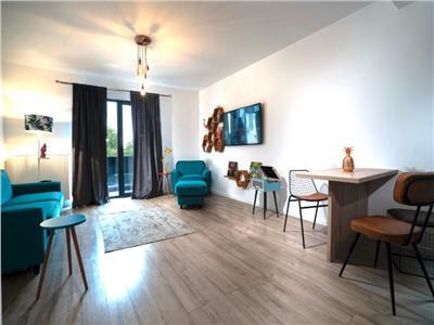 Inchiriere apartament 2 camere de LUX cu gradina in Buna Ziua- str Fagului