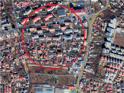 Vanzare teren rezidential zona Observatorului Zorilor, Cluj-napoca