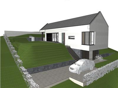 Vanzare teren autorizat pentru casa individuala zona Romul Ladea Borhanci