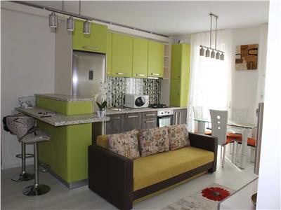 Inchriere apartament 3 camere modern bloc nou zona Centrala- Piata Abator, Cluj Napoca