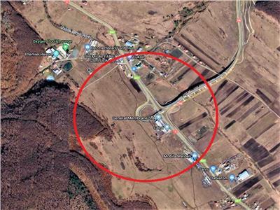 Vanzare teren pentru constructie hale zona Centura Valcele Apahida