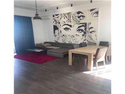 Inchiriere apartament 3 camere bloc nou cu terasa de 50 mp in Marasti- zona Iulius Mall