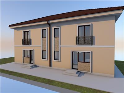 Vanzare casa duplex cu doua unitati locative in Someseni- zona str Plevnei, Cluj Napoca