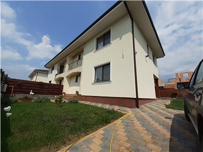 Vanzare casa tip duplex finisata, Chinteni 8 km de Auchan Iris, Cluj-Napoca