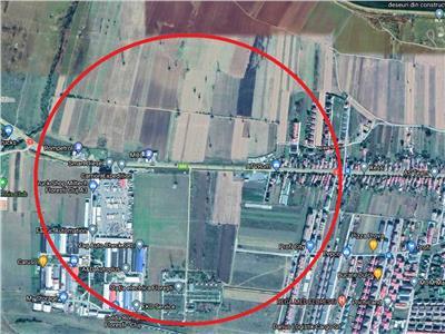 Vanzare teren pentru hala si cladire birouri zona Rompetrol Floresti, Cluj-Napoca