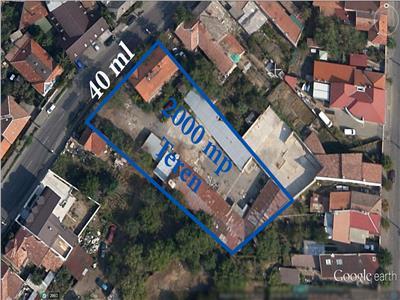 Vanzare 1600 mp teren cu front de 40 ml, Marasti, Cluj-Napoca