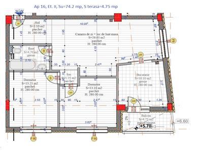 Vanzare Apartament 3 camere in Grigorescu bloc nou, Cluj Napoca