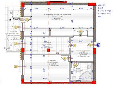 Vanzare Apartament 2 camere in Grigorescu bloc nou, Cluj Napoca