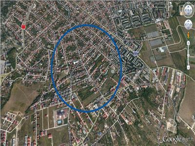 Vanzare teren pentru casa individuala zona A.Muresanu, Cluj-Napoca