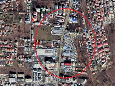 Vanzare teren 2500 mp locatie de exceptie zona OMV Calea Turzii Zorilor