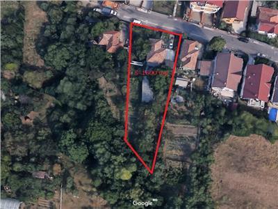 Vanzare casa renovabila/demolabila cu 1600 mp teren Zorilor