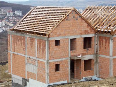 Vanzare casa insiruita 144 mp utili semifinisata Europa, Cluj-Napoca
