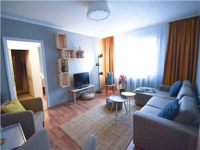 Vanzare Apartament 3 camere mobilat si utilat lux in Centru