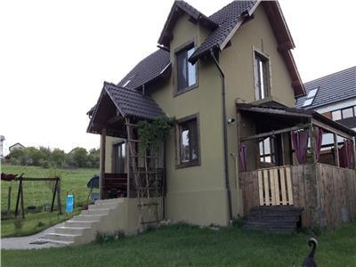 Vanzare casa individuala finisata si mobilta 600 mp teren Borhanci
